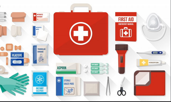 The First Aid Kit has a medical-grade quality